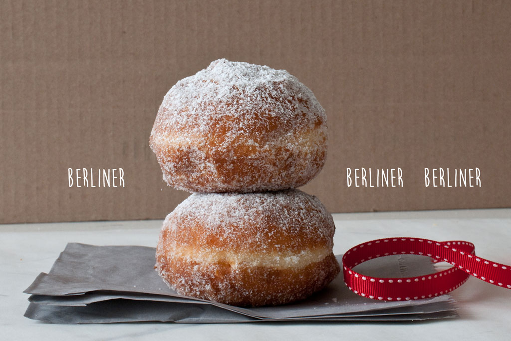 Berliner doughnuts