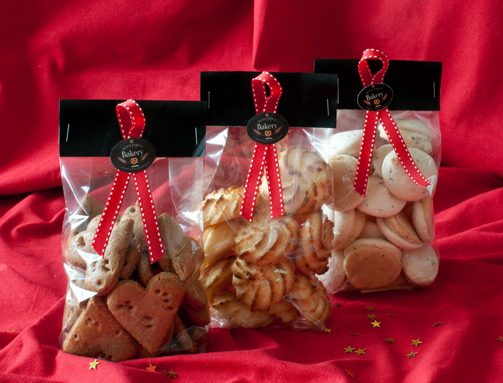 Christmas Biscuit Bags 200g